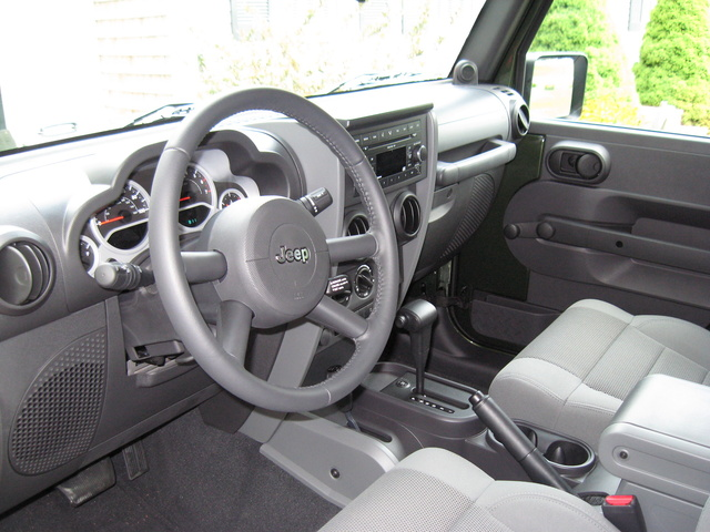 2007 jeep wrangler interior pictures cargurus. Black Bedroom Furniture Sets. Home Design Ideas