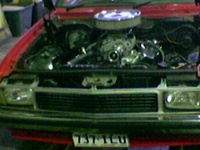 1978 Holden Torana picture, engine