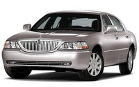 2009 Lincoln Town Car, Front Left Quarter View, exterior, manufacturer