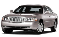 2009 Lincoln Town Car, Front Left Quarter View, manufacturer, exterior