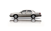 2009 Mercury Grand Marquis, Left Side View, exterior, manufacturer