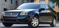 2009 Mercury Milan, Front Left Quarter View, exterior, manufacturer