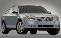 2009 Mercury Sable, Front Right Quarter View, exterior, manufacturer