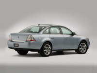 2009 Mercury Sable, Back Right Quarter View, exterior, manufacturer, gallery_worthy