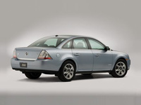 2009 Mercury Sable, Back Right Quarter View, manufacturer, exterior