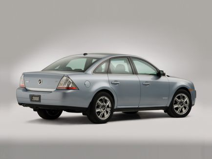 2009 Mercury Sable, Back Right Quarter View, exterior, manufacturer