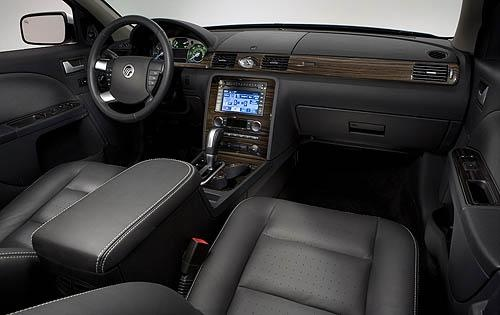 2009 Mercury Sable, Front Interior View, interior, manufacturer