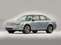 2009 Mercury Sable, Front Left Quarter View, exterior, manufacturer, gallery_worthy