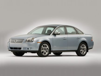 2009 Mercury Sable, Front Left Quarter View, exterior, manufacturer