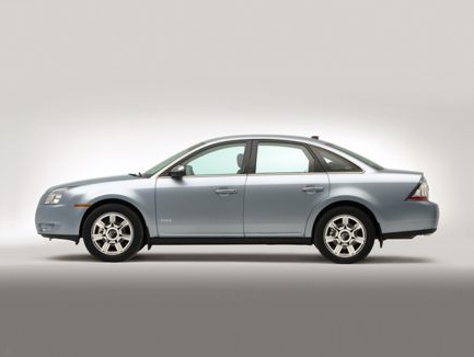 2009 Mercury Sable, Left Side View, exterior, manufacturer, gallery_worthy