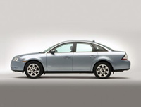 2009 Mercury Sable, Left Side View, manufacturer, exterior