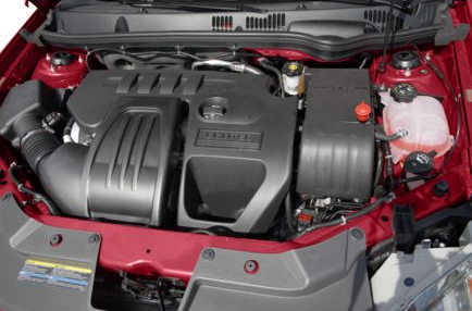 2009 Pontiac G5, Engine View, interior, manufacturer