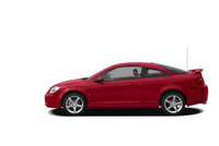 2009 Pontiac G5, Left Side View, manufacturer, exterior
