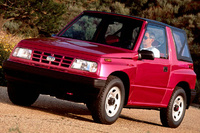 1990 Geo Tracker Overview