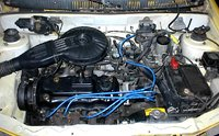 Picture of 1993 Geo Metro, engine