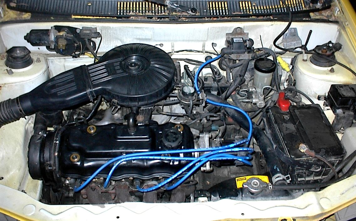 1993 Geo Metro picture, engine