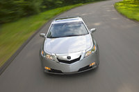 2009 Acura TL, Overhead Front View, exterior, manufacturer, gallery_worthy