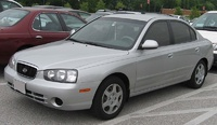 2001 Hyundai Elantra Overview