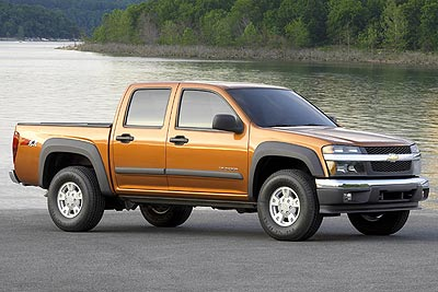 2007 Chevrolet Colorado LT1 Crew Cab 4WD picture