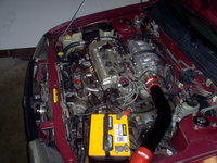 Picture of 1995 Nissan Sentra GLE, engine