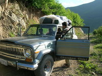 1977 Jeep Cherokee, summer 2008- Qaradagh mountains near Tabriz, exterior