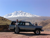 1977 Jeep Cherokee, Autumn 2006- beautiful Savalan mountain in the background, exterior