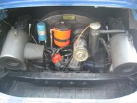 Picture of 1968 Porsche 912, engine