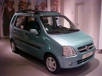 2003 Opel Agila Overview