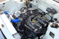 1973 Datsun 510 picture, engine