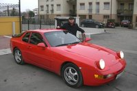 1994 Porsche 968 2 Dr STD Coupe That's me in January after I got back from Germany with my new toy., exterior