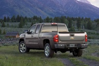 2009 Chevrolet Silverado 1500, Back Left Quarter View, exterior, manufacturer