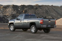 2009 Chevrolet Silverado 1500, Back Left Quarter View, manufacturer, exterior