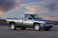 2009 Chevrolet Silverado 1500, Front Right Quarter View, manufacturer, exterior