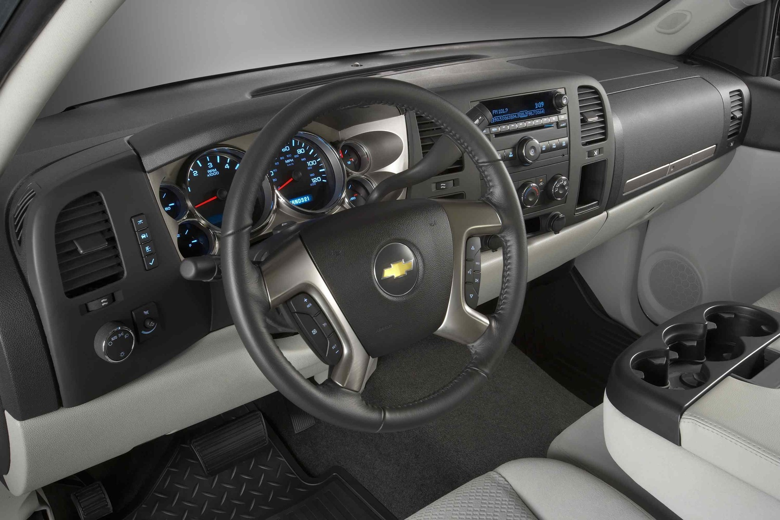 2009 Chevrolet Silverado 1500, Interior View, manufacturer, interior