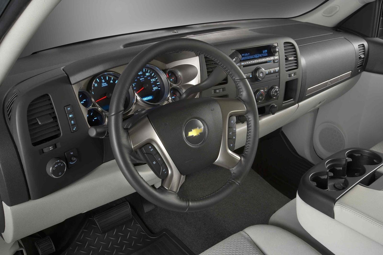 2009 Chevrolet Silverado 1500, Interior View, interior, manufacturer