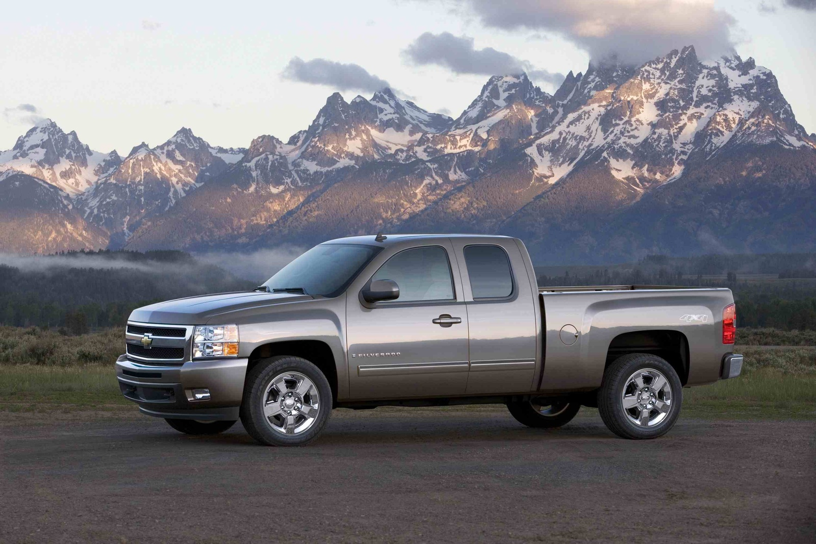 2009 Chevrolet Silverado 1500, Left Side View, manufacturer, exterior