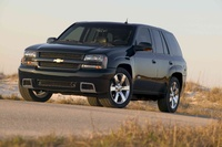 2009 Chevrolet TrailBlazer, Front Left Quarter View, exterior, manufacturer