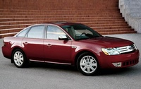 2009 Ford Taurus Limited, Front Right Quarter View, manufacturer, exterior