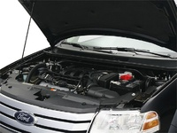 2009 Ford Taurus X, Engine View, interior, manufacturer