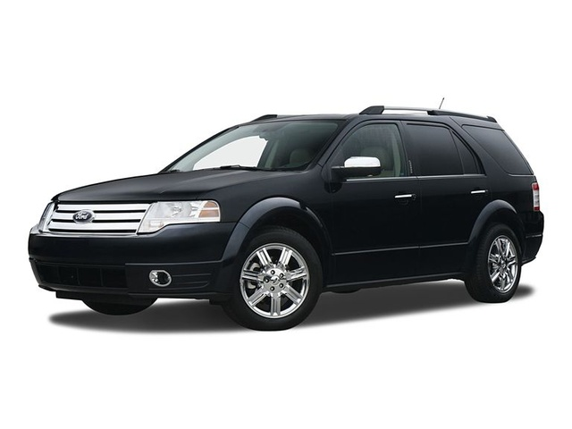 2009 Ford Taurus X, Front Left Quarter View, exterior, manufacturer, gallery_worthy