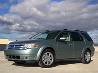 2009 Ford Taurus X, Front Left Quarter View, exterior, manufacturer