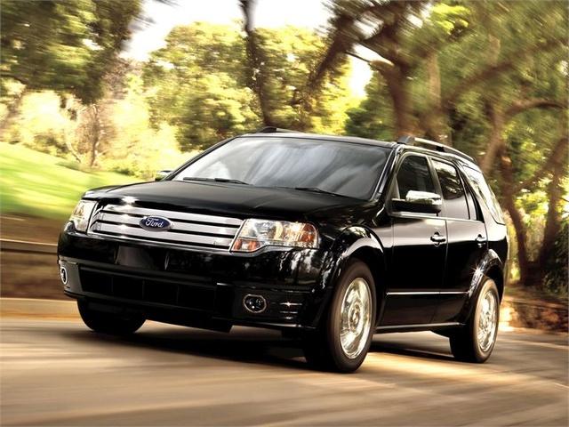 2009 Ford Taurus X, Front Left Quarter View, exterior, manufacturer