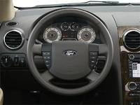 2009 Ford Taurus X, Interior Dash View, interior, manufacturer