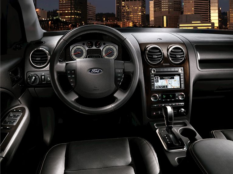 2009 Ford Taurus X, Interior Dash View, manufacturer, interior