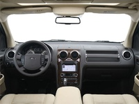 2009 Ford Taurus X, Interior Front View, manufacturer, interior