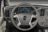 2009 GMC Savana Cargo, Interior Dash View, interior, manufacturer