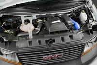 2009 GMC Savana Cargo, Engine View, interior, manufacturer