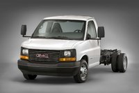 2009 GMC Savana, Front Left Quarter View, exterior, manufacturer