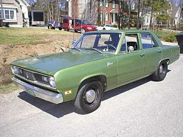 1970 Plymouth Valiant picture, exterior