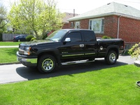 Picture of 2005 Chevrolet Silverado 1500 Ext Cab 4WD, exterior